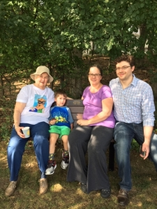 Arthur Falk Memorial Bench dedication